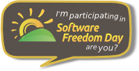 I'm participating in software freedom day