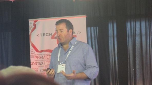 Gareth, tech4africa organiser